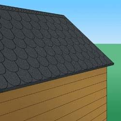 Gartenhaus Dach Decken So Geht S Schritt Fur Schritt Gartenhaus Gartenhaus Dach Gartenhaus Bauen
