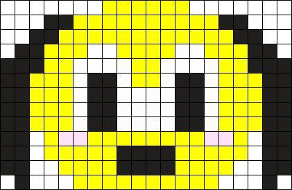 Pluto Tsumtsum Perler Bead Pattern Bead Sprite Tsumtsum