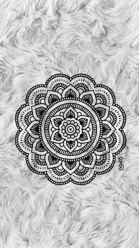 20 Trendy Wallpaper Iphone Mandalas Dark Mandala Wallpaper Mandala Design Art Mandala Drawing