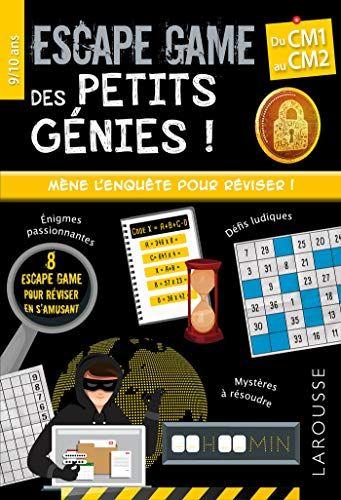 Telecharger Escape Games Des Petits Genies Cm1 Pdf Livre En