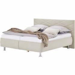 Polsterbett Kos Creme Masse Cm B 160 H 112 Hoffner In 2020 Upholstered Beds Bed Decor