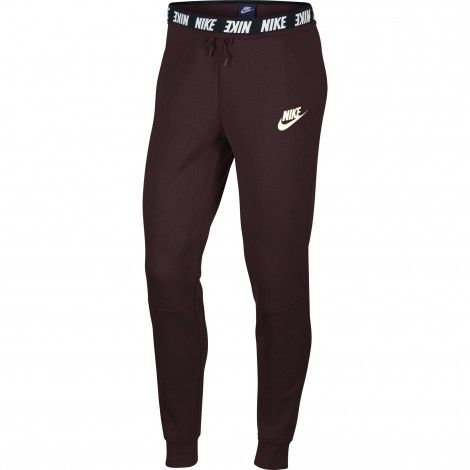 Nike Sportswear Advance 15 joggingbroek dames burgundy ...