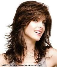 Medium length layered hairstyles, Hairstyles and Feather hair on ...