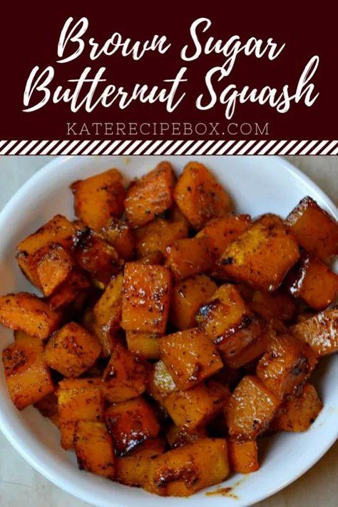 Brown Sugar Butternut Squash
