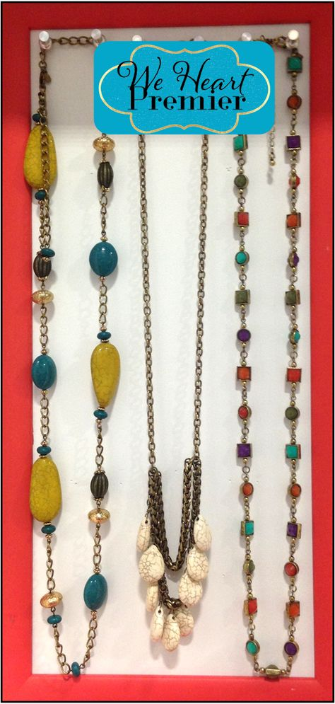 Buenos Aires, Carmel and Chiclet necklaces #pdstyle