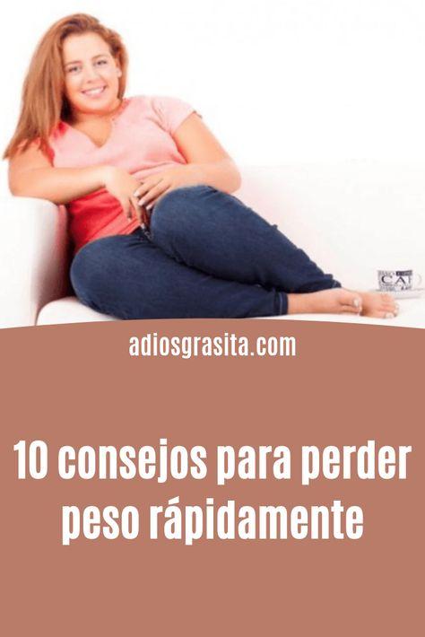 10 tips para perder peso rapidamente