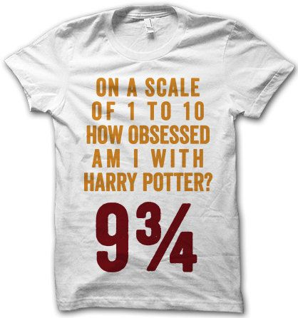 Harry Potter Obsessed by ThugLifeShirts on Etsy