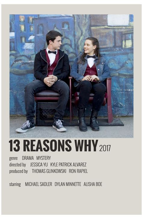 alternative movie posters 13 reasons why