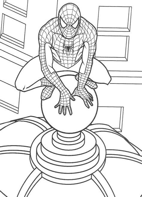 Coloring Pages Of Spiderman 3 With Images Spiderman Coloring