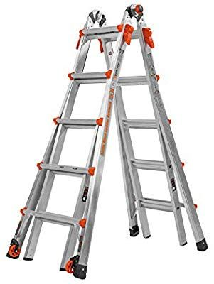 Little Giant 17 Foot Velocity Multi Use Ladder 300 Pound Duty Rating 15417 001 Telescoping Ladders Amazon Com With Images Best Ladder Aluminium Ladder Little Giants
