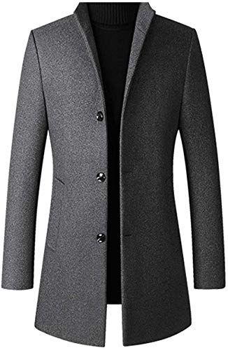 Macondoo Mens Long Sleeve Turn Down Checkered Slim Casual Button Up Shirts