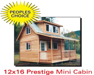 12x16 Prestige Mini Cabin (Iu0027d Probably Prefer A 16x24) ; ) | Cabins |  Pinterest | Mini Cabins, Cabin And Tiny Houses