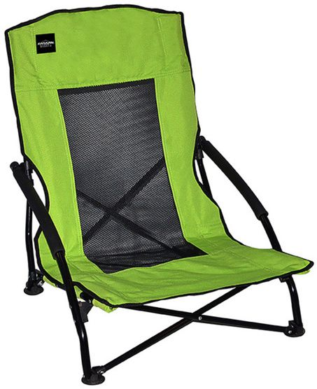 Caravan Canopy Sports Compact Lime Green Low Back Folding Chair