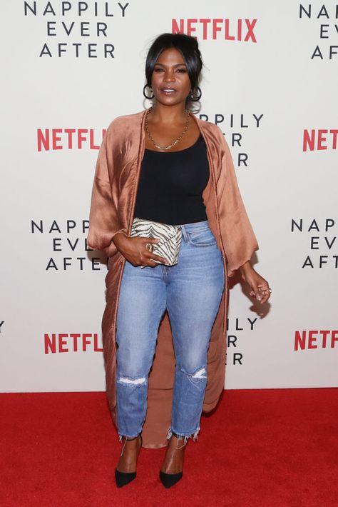 Nia Long Source by ShArPQween fashion black women