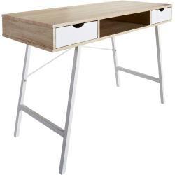 Schreibtisch Bryrup 76x120 2 Schubladen Retro Danisches