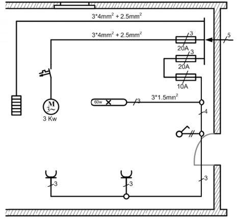 كتاب الرسم الفني الكهربائي كتاب يتناول اساسيات الرسم الفني ويعرض الرموز الكهربائية للتمديدات وا Power Engineering Electrical Circuit Diagram Technical Drawing