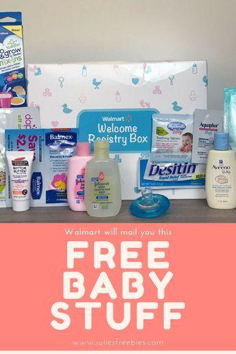 Walmart Will Send You A Box Of Free Baby Stuff Walmart Baby