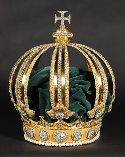 Majestic Outfit Crown Carlos Marin Coroa Imperial Joias Da