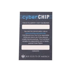 Results For Cyber Chip Card Boy Scouts Of America Cyber Scout Store