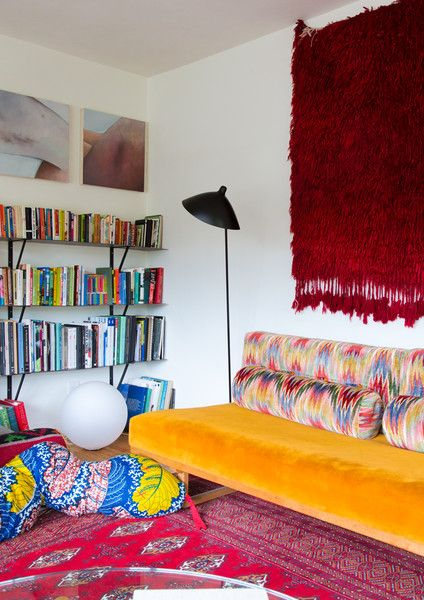 So Dramatic - Work + Sea's Colorful Los Angeles Home  - Photos