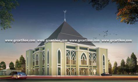 Masjid Gontor 3 Revisi 3 Custom Produk
