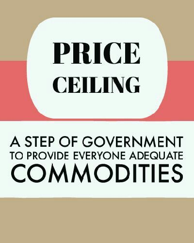 Price Ceiling And Price Floor With Images Economics Articles What Is Meant Economics