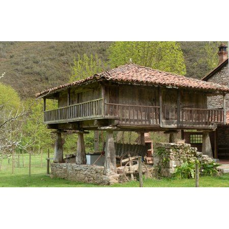 The Country To Have The Money Back This Is Asturias And This Is The House Deserve Felip For Him Adios Felipe C Tiny House Design Small House House Styles