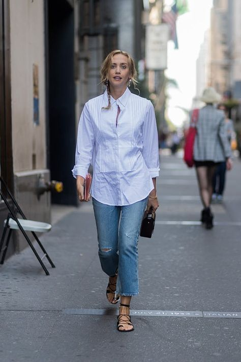 Tap into Elsa Hosk's coolest of casual looks with a pair of