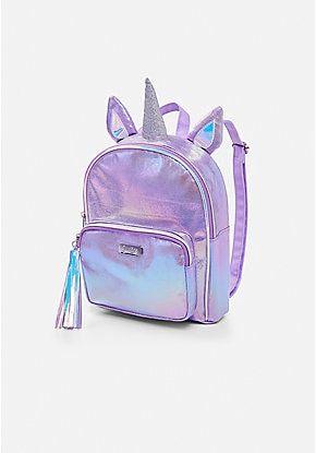 Shimmer Unicorn Mini Backpack Girly Bags Cute Mini Backpacks Girls Bags