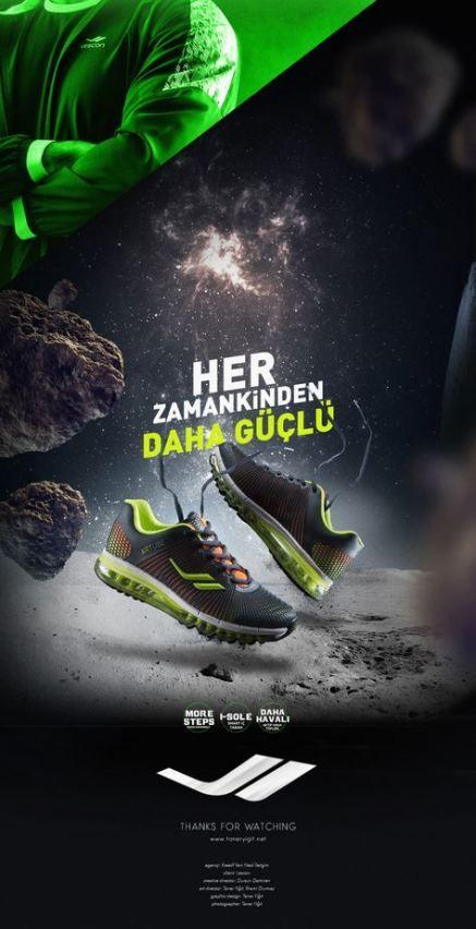 Download Sport Shoes Poster Design 44 Super Ideas Shoe Advertising Shoe Poster Shoes Ads
