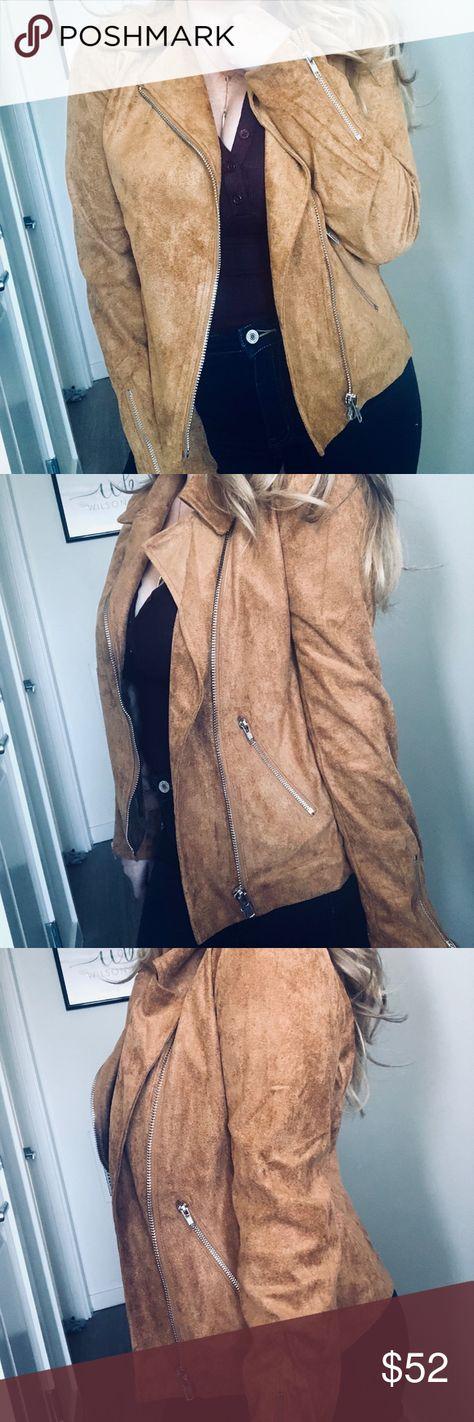 4d35286769904 Joanne Faux Suede Jacket Our Joanne Jacket is the fall jacket of our dreams.  A faux suede jacket featuring notched lapels