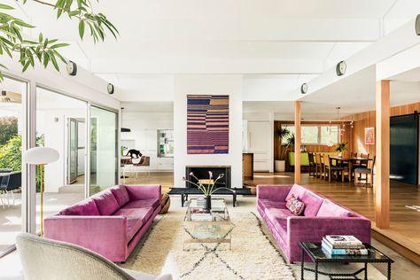 2 Broke Girls Creator Michelle Nader La Home Tour Paint Colors