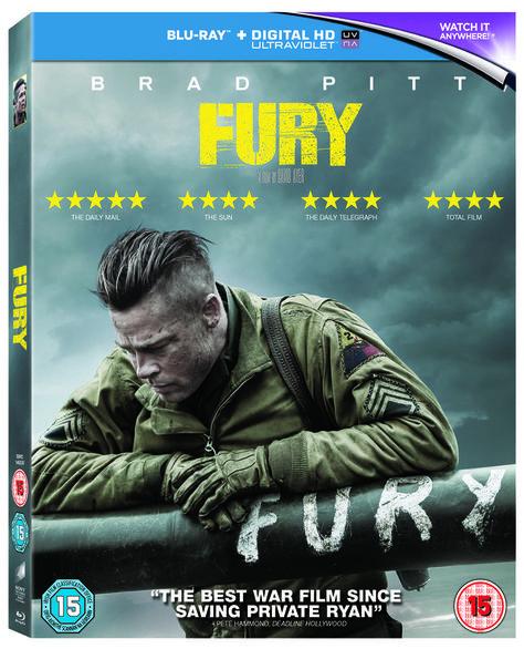 Win a Fury merchandise pack & Blu-ray