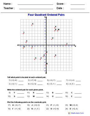 Graphing Worksheets Four Quadrant Graphing Characters Worksheets Coordinate Graphing Coordinate Graphing Pictures Graph Drawings With Coordinates