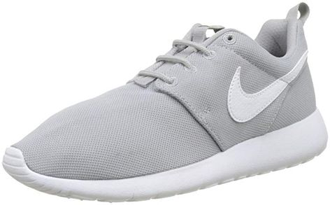 acef35112b57 NIKE Youth Roshe One GS Mesh Wolf Grey Trainers 6 US Review