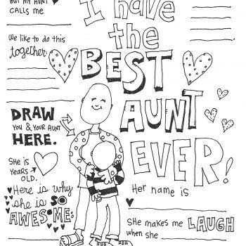 Best Aunt Coloring Page Coloring Pages Best Aunt Inspirational Dr Seuss Quotes