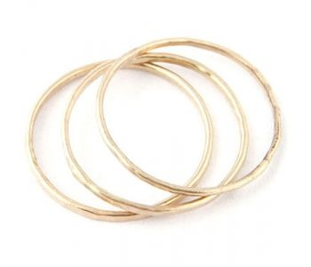 Gold 1Mm Ring
