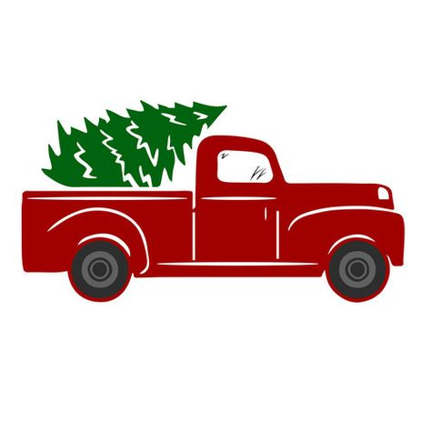 Christmas Tree Truck Svg Free.Pin On Vinyl Letters Designs