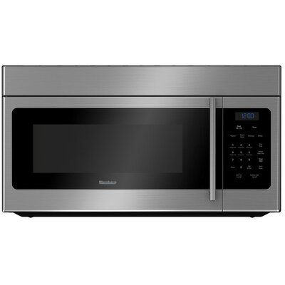 Blomberg 30 1 5 Cu Ft Over The Range Microwave Microwave Built In Microwave Convection Cooking