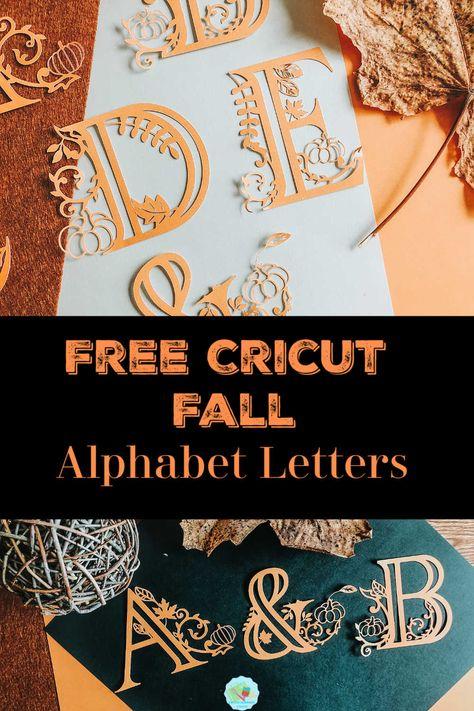 Vinyle Cricut, Cricut Vinyl, Free Cricut Fonts, Cricut Images Free, Cricut Monogram, Font Free, Alphabet Letter Templates, Alphabet Letters, Letter Logo