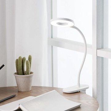 Yeelight 5w Led Usb Rechargeable Clip Desk Table Lamp Eye Protection T In 2021 Table Lamp Lamp Led Desk Lamp