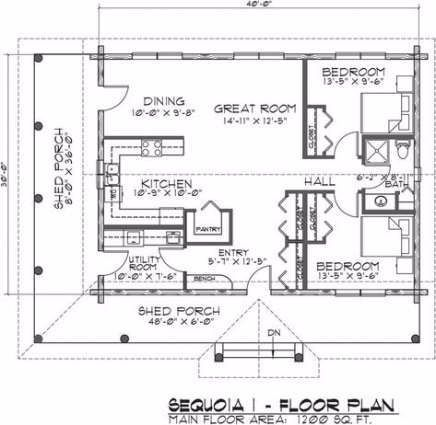 40 Trendy House Plans 1200 Sq Ft Open Floor 2 Bedroom House Plans 1200 Sq Ft House New House Plans