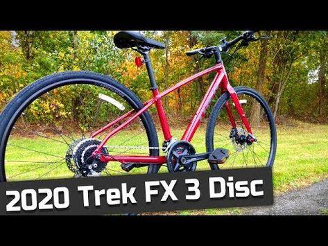An Awesome Hybrid 2020 Trek Fx 3 Disc Flat Bar Hybrid Commuter