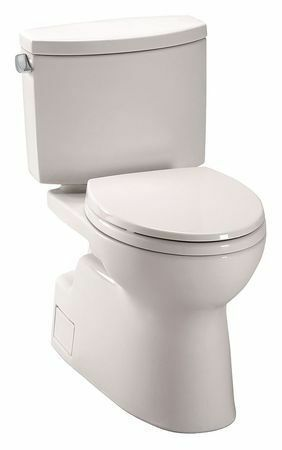 Toto Cst474cefg 12 1 28 Gpf Gravity Fed Floor Mount Elongated Tank Toilet In 2020 Toilet Toto Toto Toilet
