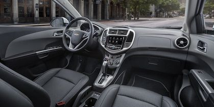 Chevrolet 2019 Sonic Compact Car Interior Photo Front Seats