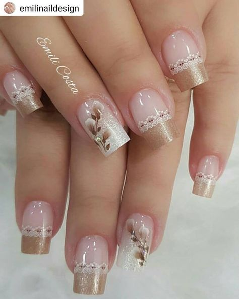 french nails classy Tips