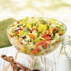 Gefilte Fish Chopped Salad