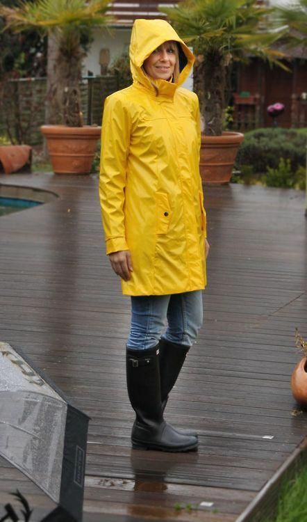 Wear Rainwear and stay dry and cool!