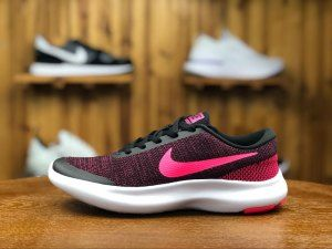 edaff746f15a Womens Nike Flex Experience Rn 7 Black Racer Pink 908996 006 Running Shoes
