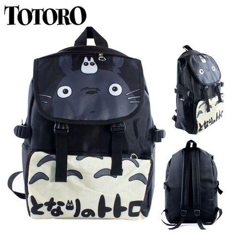Aliexpress.com  Comprar Escuela TOTORO mochila de viaje en el Cosplay  Kawaii de… 33b6d389e90